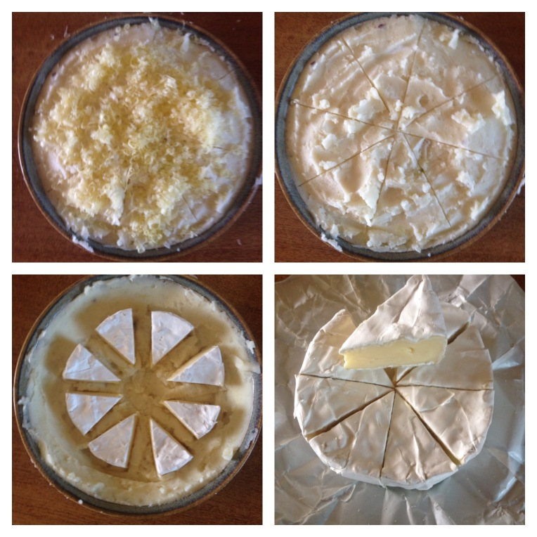 camembert/brie potato pie