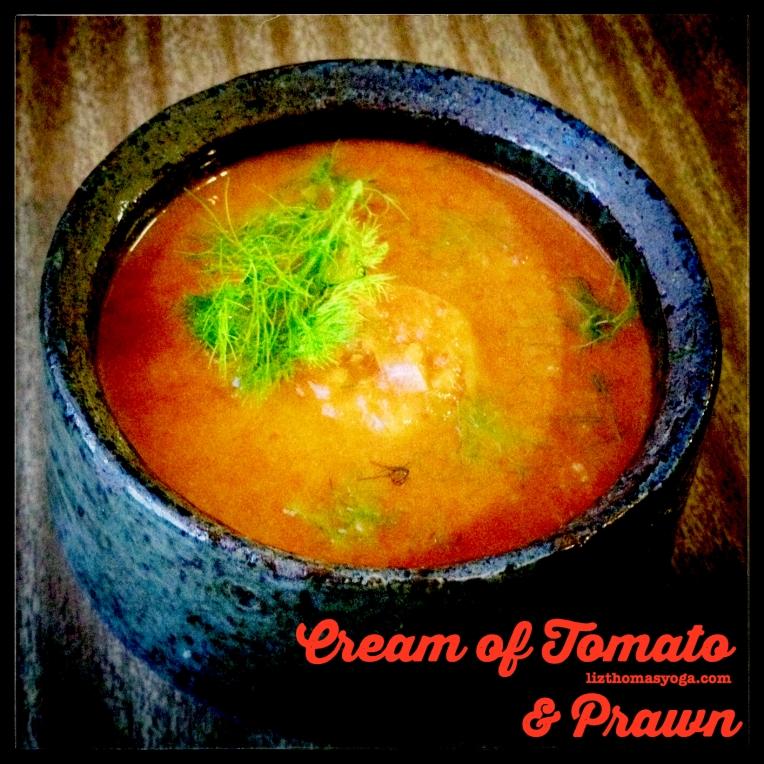 Tomato Fennel Prawn
